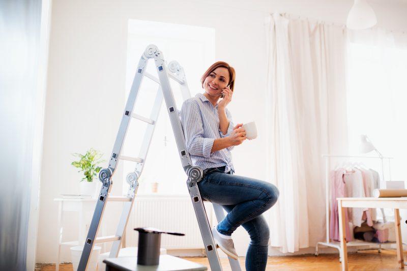 glasfiberstege är perfekt för att rengöra svåråtkomliga ställen i hemmet